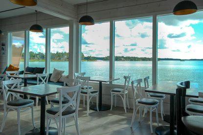 Merimaisema Ravintola Nokkalan Majakalla.
