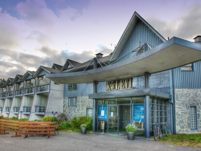 Pieni ja kodikas Hotel K5 Levi ja hotellin ravintola Bistro K5 aukeavat 1.7.2020.