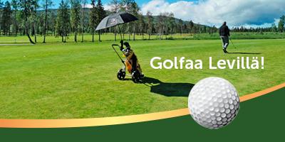 Golf-tarjous Leville kesä 2020.