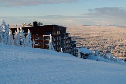 Hotel Levi Panorama ja Aurinkomatkat yhteistyössä Lapin pakettimatkoilla.