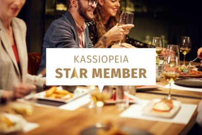 Nyt voit liittyä Kassiopeian kanta-asiakkaaksi, star memberiksi!