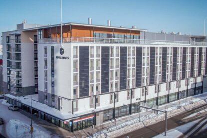 Uusi moderni Hotel Matts aukeaa Marinkylään Espooseen keväällä 2021.