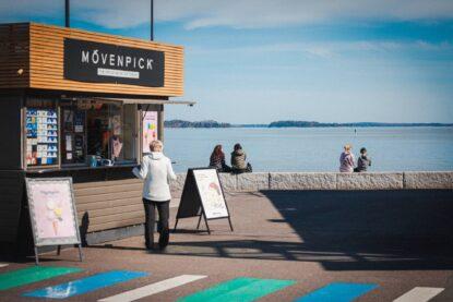 Espoon merennassa toimiva Nokkala Ice Cream Shop -jäätelökioski avautuu jälleen keväälle ja kesälle 2021.